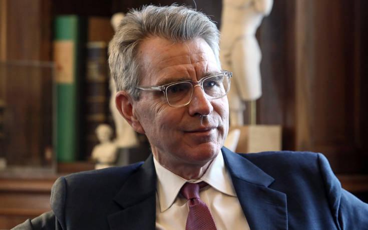 Τζέφρι Πάιατ: Αν οι πολίτες επιλέξουν τη ΝΔ θα συνεχιστεί η πρόοδος στις σχέσεις Ελλάδας-ΗΠΑ