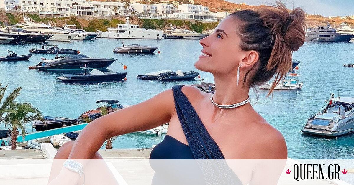 Αυτή είναι η πόζα με μαγιό που κάνουν οι Ελληνίδες celebrities για να δείχνουν πιο καλλίγραμμες