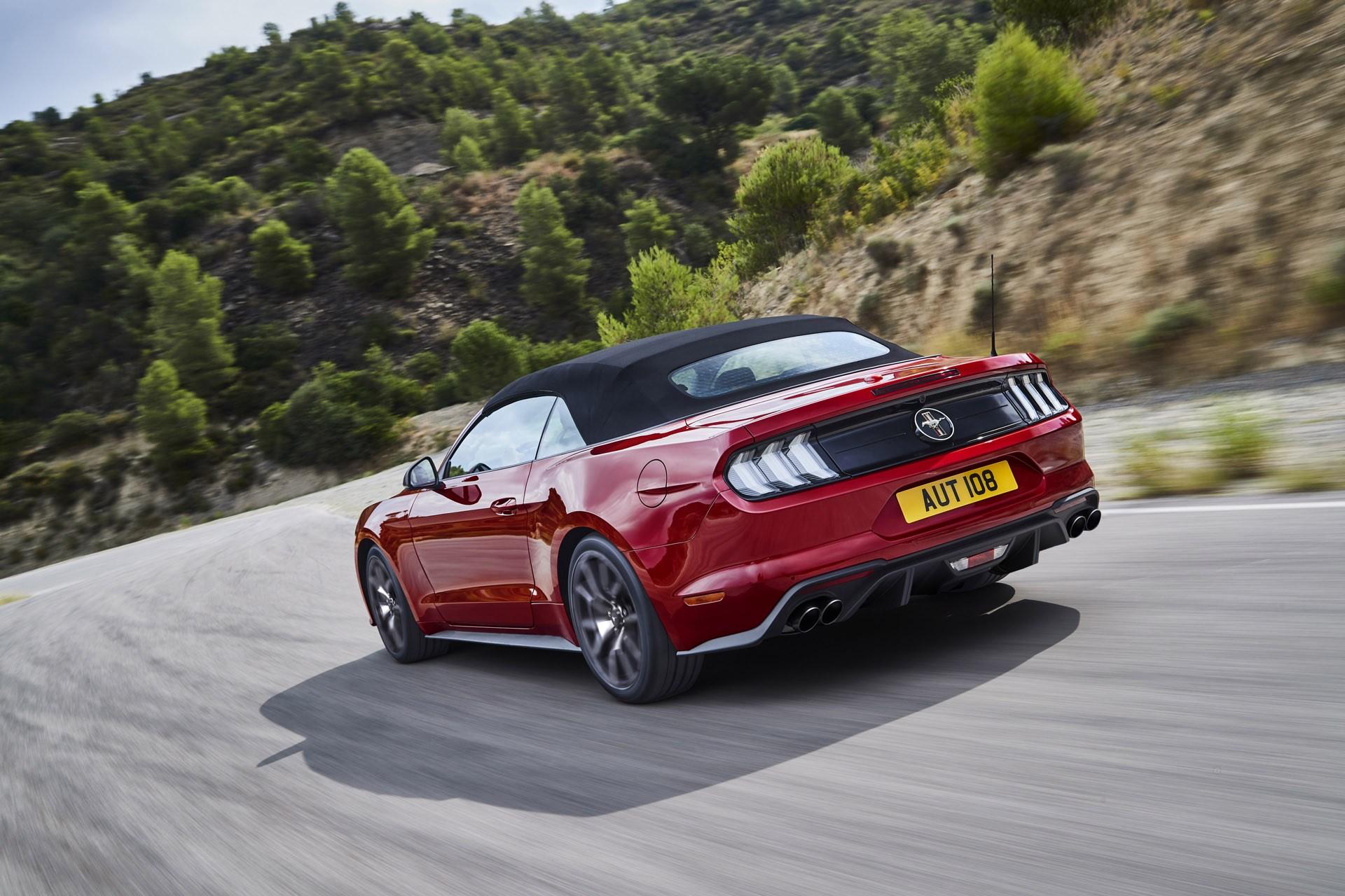 Επετειακή έκδοση Mustang55 5.0L V8 και αναβαθμίσεις για την Mustang 2.3L EcoBoost