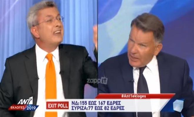 Εκλογές 2019: Ο Νίκος Χατζηνικολάου «βγήκε από τα ρούχα του» και κατέληξε να τον «κόψει» [Βίντεο]