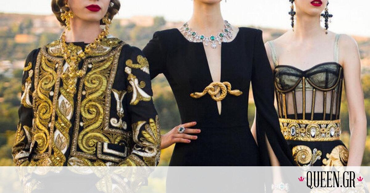 Το fashion show Dolce&Gabbana Alta Moda ήταν ένας φόρος τιμής στον Αρχαίο Ελληνικό Πολιτισμό