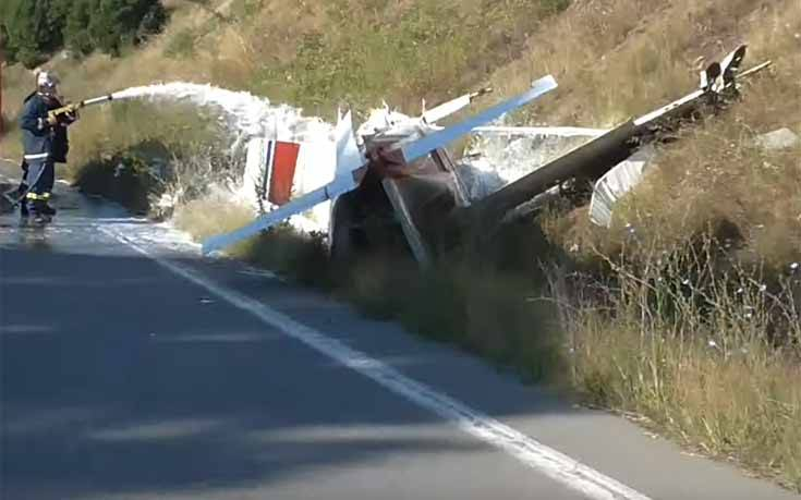 «Ο πιλότος έφερε τραύματα στο κεφάλι, κάναμε ράμματα»