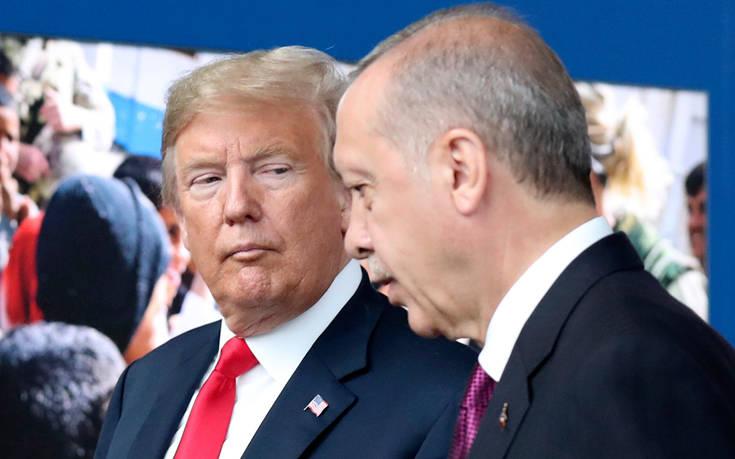 Ανοιχτό από τον Τραμπ το ενδεχόμενο επιβολής κυρώσεων στην Τουρκία
