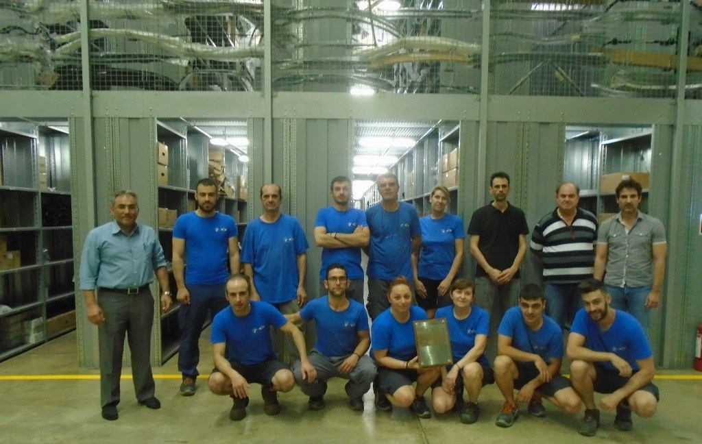 Χρυσό βραβείο για το BMW Group Hellas και την αποθήκη ανταλλακτικών