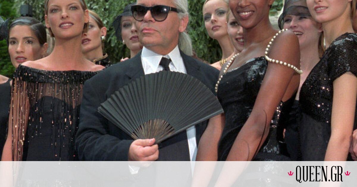 H Κate Moss και η Cara Delevingne τιμούν τη μνήμη του Karl Lagerfeld με έναν πολύ κομψό τρόπο