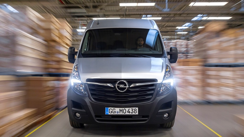 Ξεκίνησαν οι πωλήσεις του Opel Movano