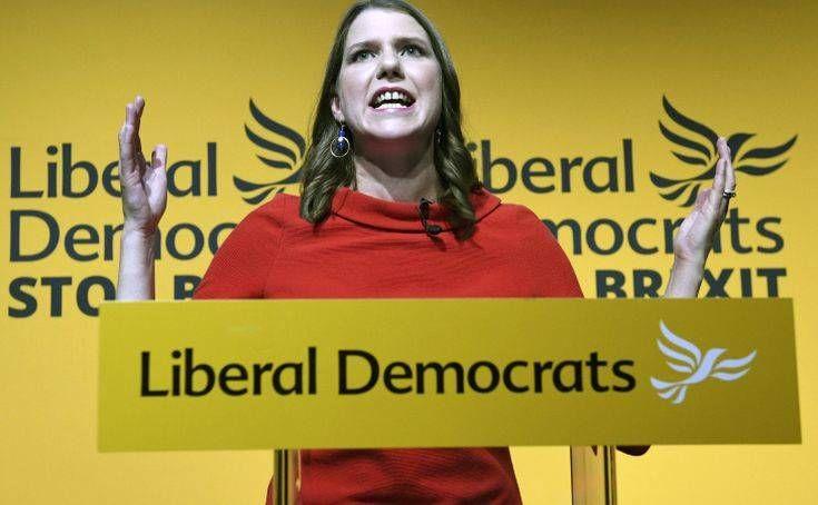 Βρετανία: Η «ορκισμένη ενάντια στο Brexit» εκλέχθηκε πρώτη γυναίκα αρχηγός των Φιλελεύθερων