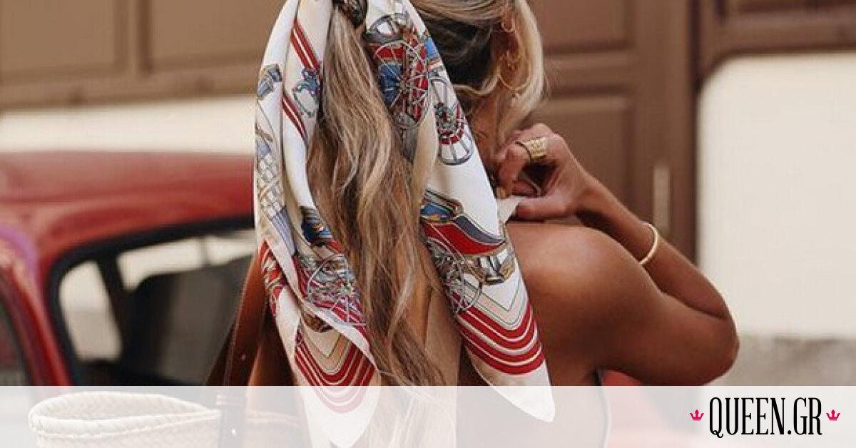 Hair Scarf: Ένα φουλάρι στα μαλλιά σου είναι ό,τι πρέπει για να είσαι κομψή φέτος το καλοκαίρι
