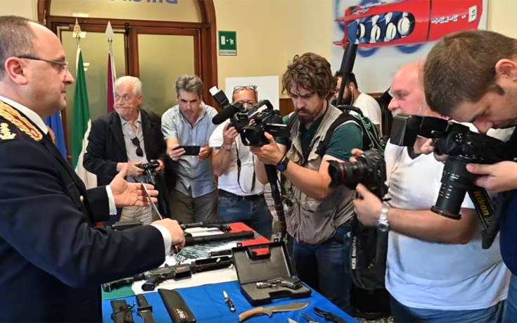 Μέχρι και πύραυλο είχαν στην κατοχή τους ακροδεξιές ομάδες στην Ιταλία