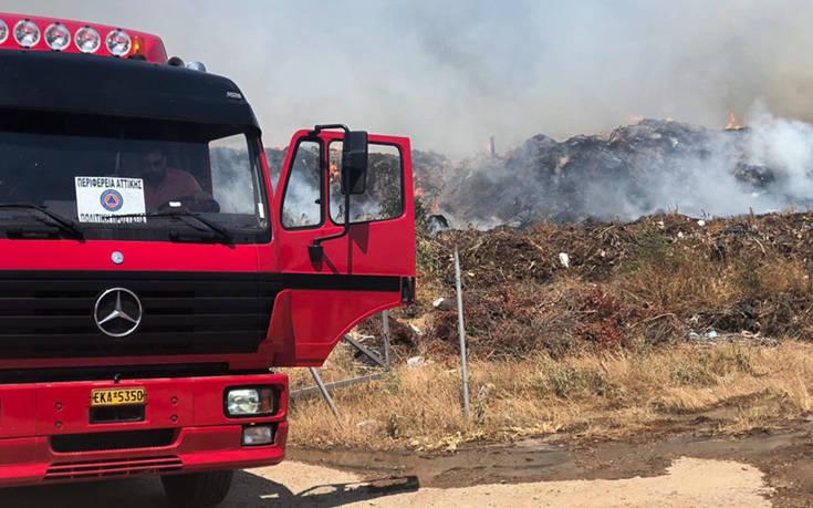 Πολύ υψηλός κίνδυνος πυρκαγιάς την Κυριακή σε Αττική και Εύβοια