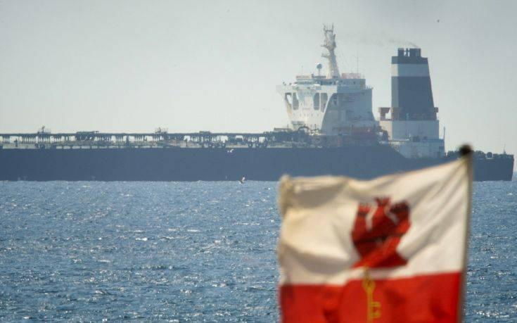Παρατείνεται για 14 μέρες η κράτηση του ιρανικού δεξαμενόπλοιου στο Γιβραλτάρ