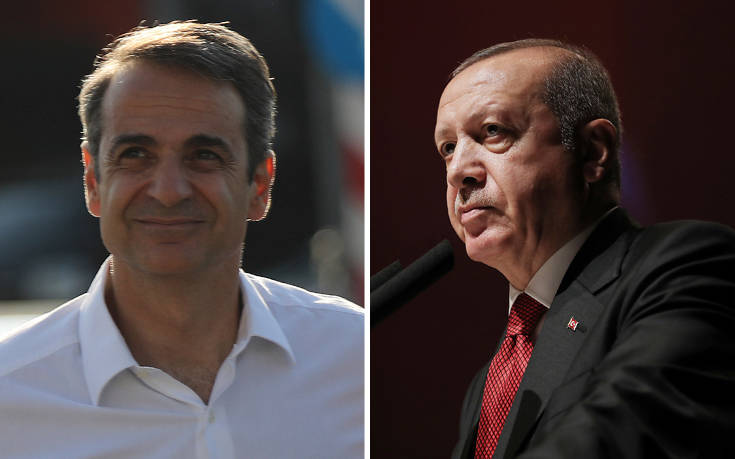 Τα συγχαρητήρια Ερντογάν σε Μητσοτάκη
