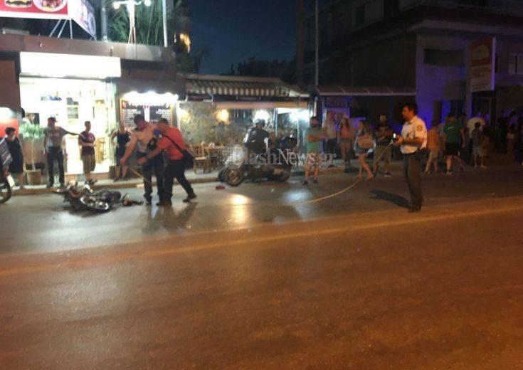 Σοβαρό τροχαίο στα Χανιά με τρεις τραυματίες