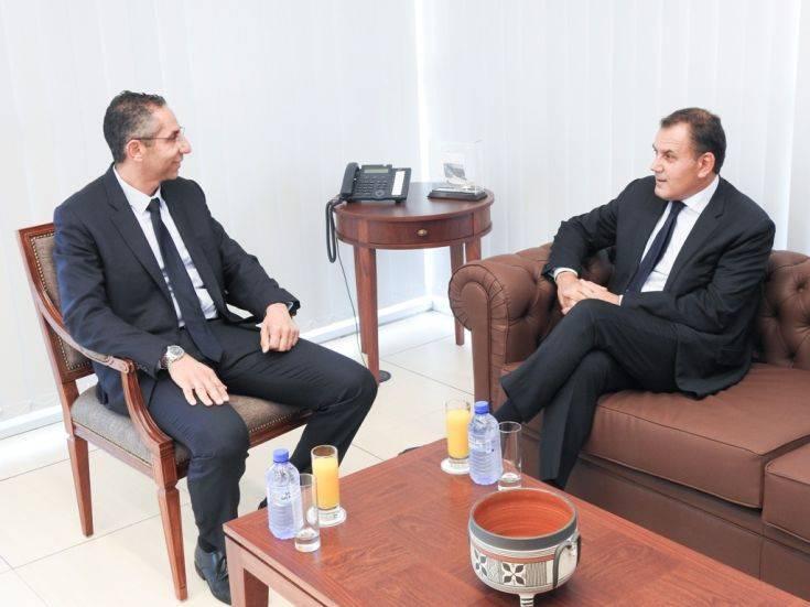 Επίσημη επίσκεψη του υπ. Εθνικής Άμυνας Νίκου Παναγιωτόπουλου στην Κύπρο