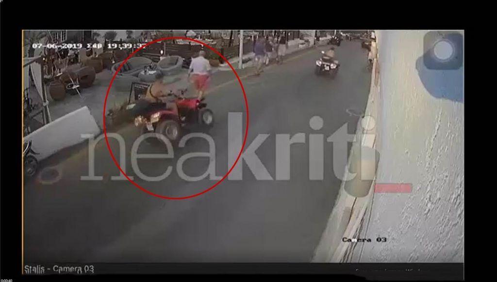 """Κρήτη: """"Γουρούνα"""" παρέσυρε τέσσερις πεζούς στο Ηράκλειο"""