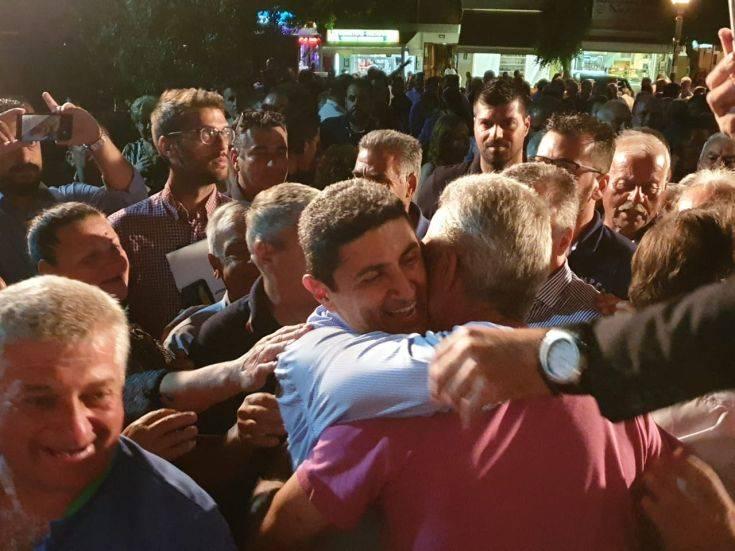 Αυγενάκης: Την Κυριακή ψηφίζουμε για το μέλλον της πατρίδας μας