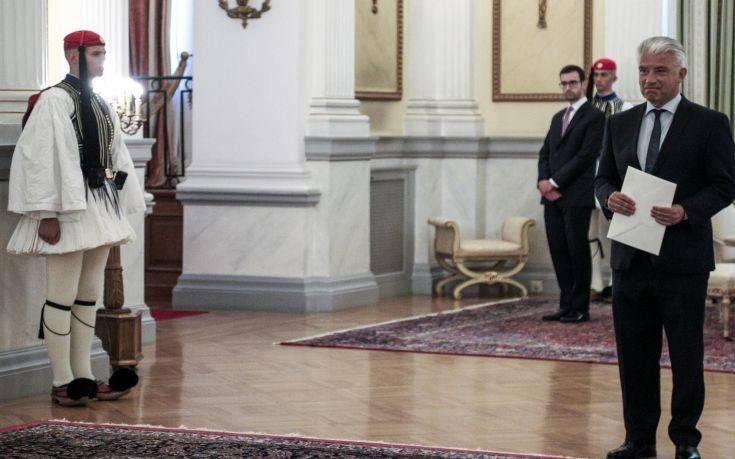 Ο νέος Γερμανός πρέσβης αποθεώνει την Ελλάδα και τον πολιτισμό της