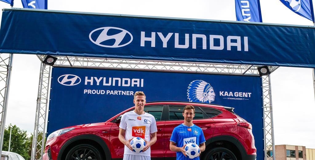 Η Hyundai Belux θα είναι χορηγικός συνεργάτης της KAA Gent για τα επόμενα τρία χρόνια