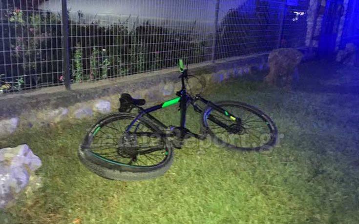 Νεκρός ο 14χρονος που παρασύρθηκε με το ποδήλατό του από αυτοκίνητο στη Λαμία
