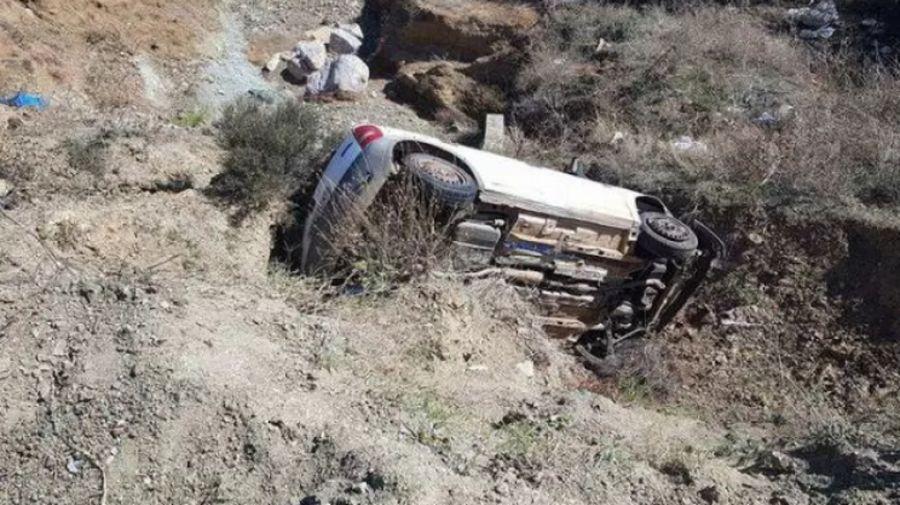 Αυτοκίνητο έπεσε σε γκρεμό στη Φθιώτιδα