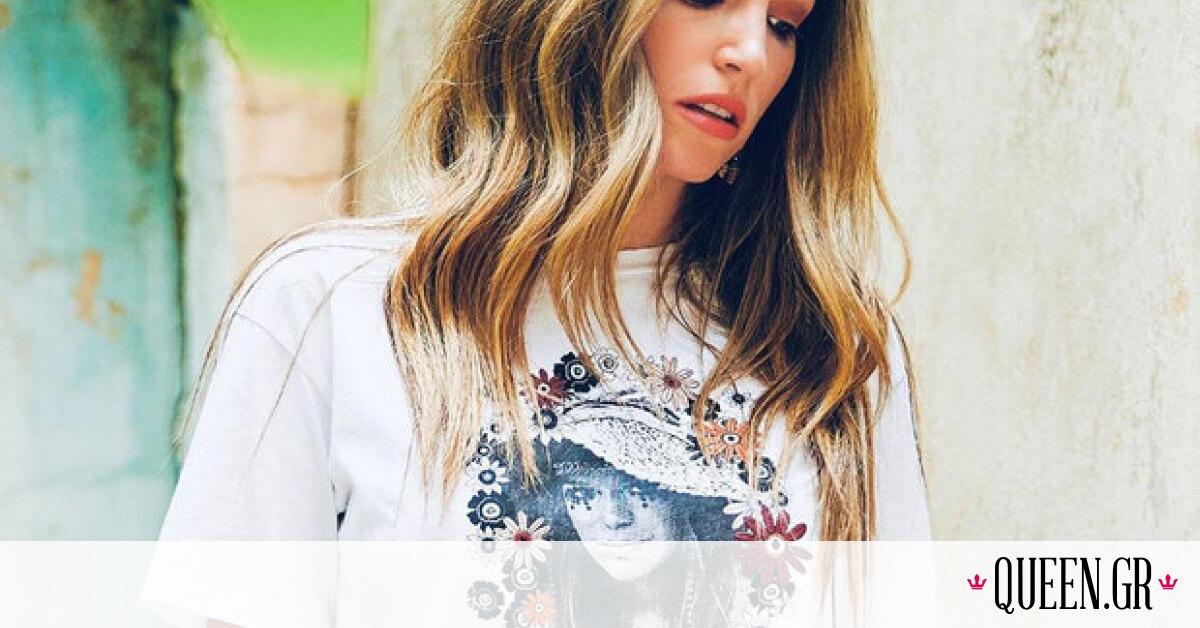 """Η Αθηνά Οικονομάκου μας δείχνει το αγαπημένο της στυλ φούστας γι"""" αυτό το καλοκαίρι"""