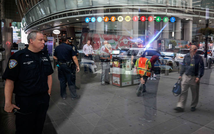 Ύποπτες χύτρες προκάλεσαν την εκκένωση σταθμού του μετρό της Νέας Υόρκης