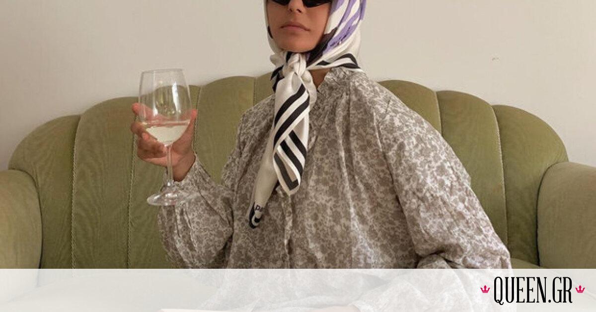 Το μαντήλι στα μαλλιά το θεωρείς παρωχημένο; Θα αναθεωρήσεις μόλις δεις πώς το φοράει αυτή η blogger