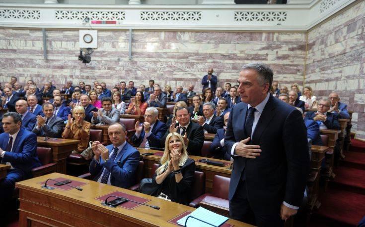 Το κόλπο του Σταύρου Καλαφάτη για να… μαντρώνει τους βουλευτές της ΝΔ