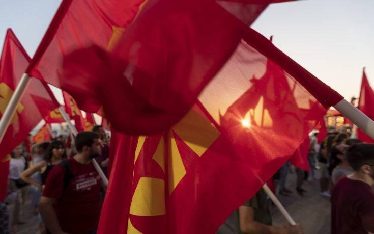 Το ΚΚΕ καταγγέλλει την αστυνομοκρατία στη κινητοποίηση για το ΧΥΤΑ στη Φυλή