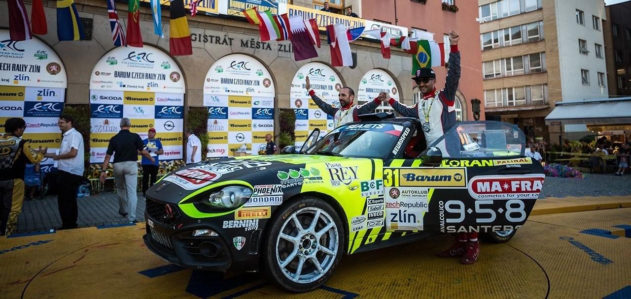 Ακόμα μία νίκη στο ERC2 για το Abarth 124 rally