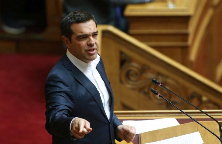 Τσίπρας σε Μητσοτάκη: Έλλειψη σεβασμού στους θεσμούς και τη συνέχεια του Κράτους