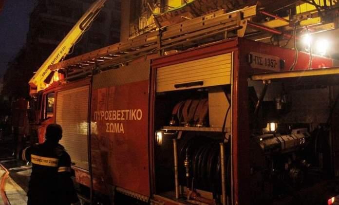 Θεσσαλονίκη: Φωτιά σε εγκαταλειμμένο σπίτι στην Άνω Πόλη