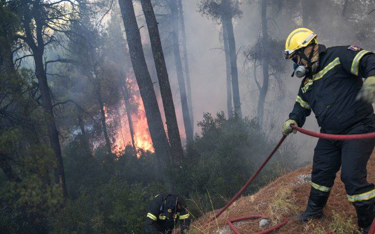 Πυρκαγιά στην Καβάλα