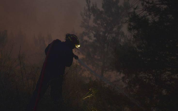 Υπό μερικό έλεγχο η φωτιά στο Μετόχι της δυτικής Αχαΐας