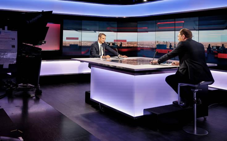 Το σχόλιο του Κυριάκου Μητσοτάκη στο France 24 για το ιρανικό τάνκερ