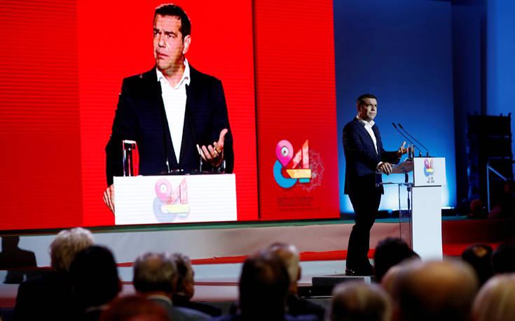 Η ομιλία του αρχηγού της αξιωματικής αντιπολίτευσης Αλέξη Τσίπρα στη ΔΕΘ