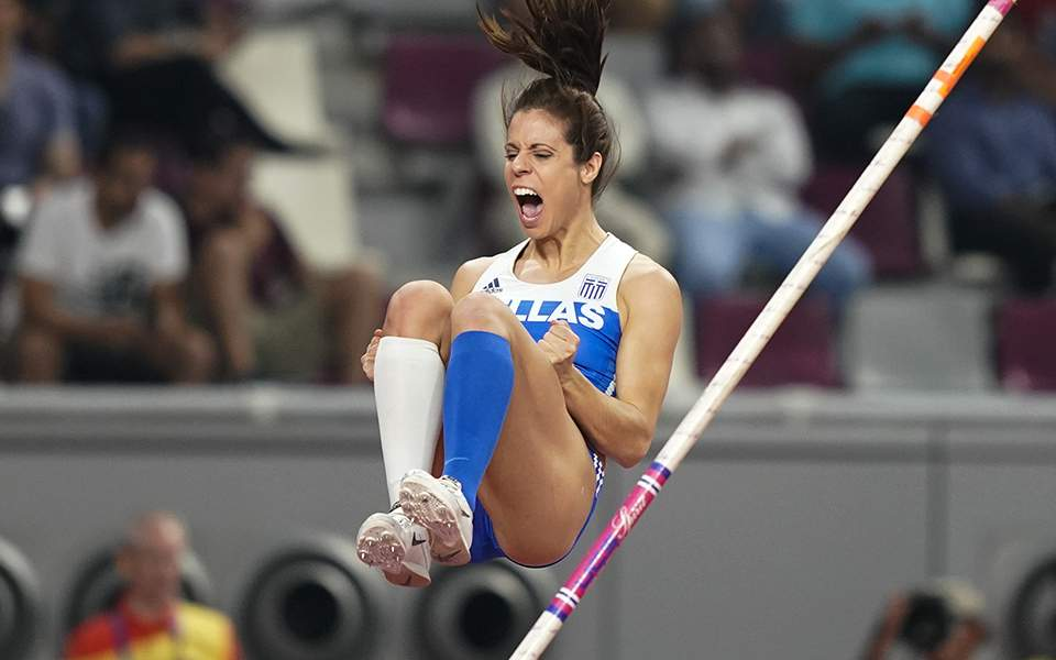 Ντόχα: «Χάλκινη» στο παγκόσμιο πρωτάθλημα στίβου η Κατερίνα Στεφανίδη (εικόνες)
