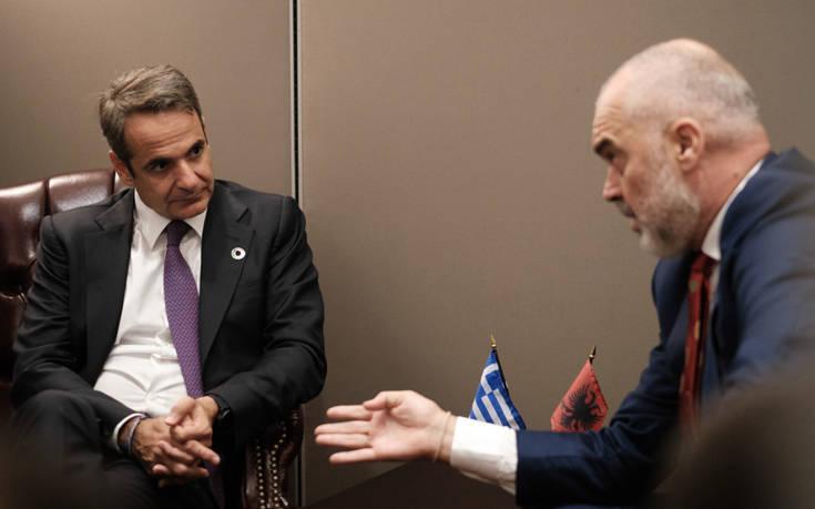 Συνάντηση Μητσοτάκη – Ράμα και το μήνυμα για την ελληνική μειονότητα