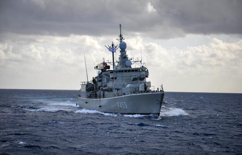 Σκύρος: Τουρκικό drone πάνω από ελληνικά πολεμικά πλοία