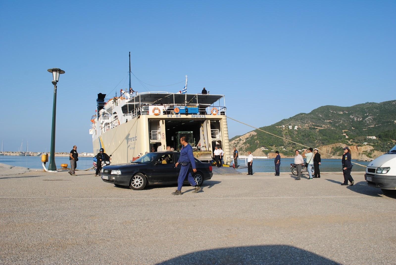 Κανονικά τα δρομολόγια των πλοίων από Βόλο προς Σποράδες παρά την απεργία