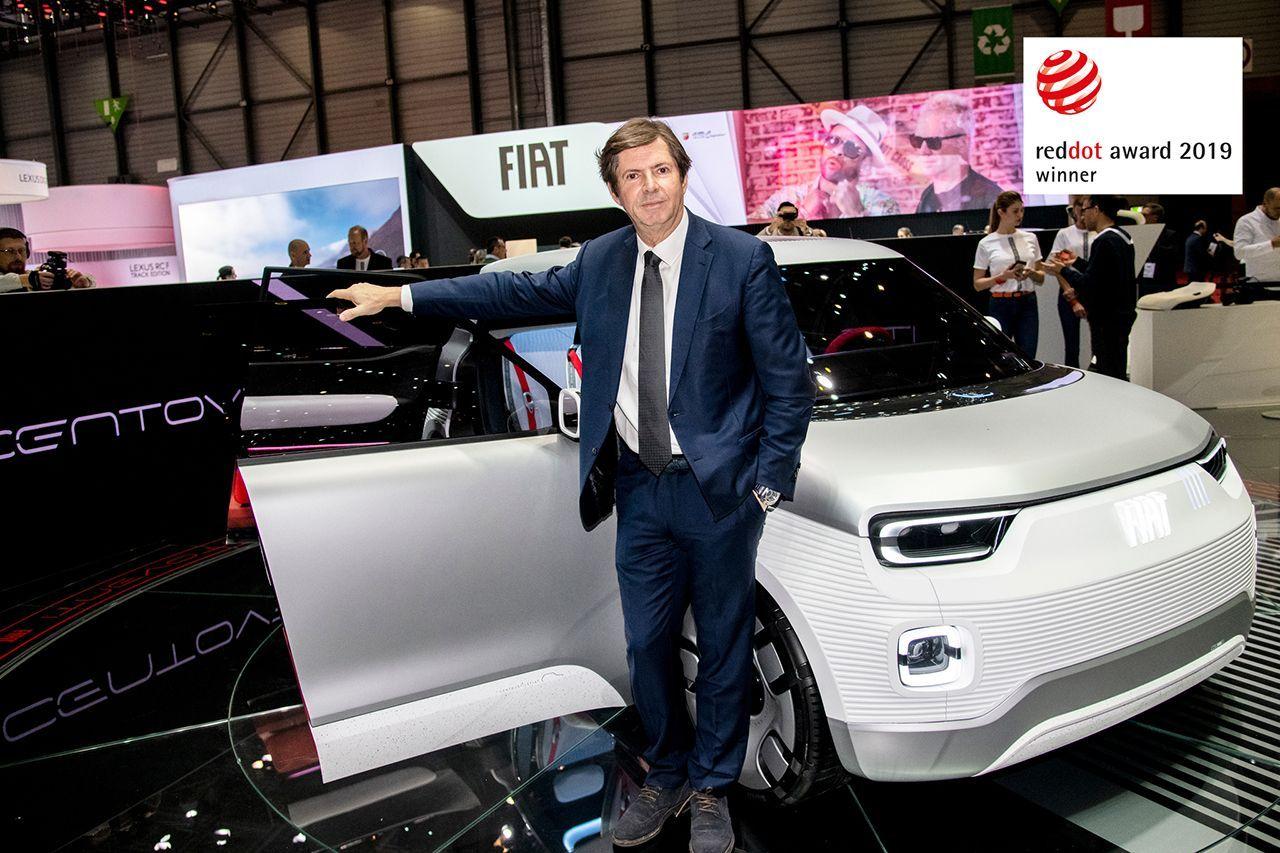 "To Fiat Concept Centoventi κερδίζει το ""Red Dot Award 2019"""