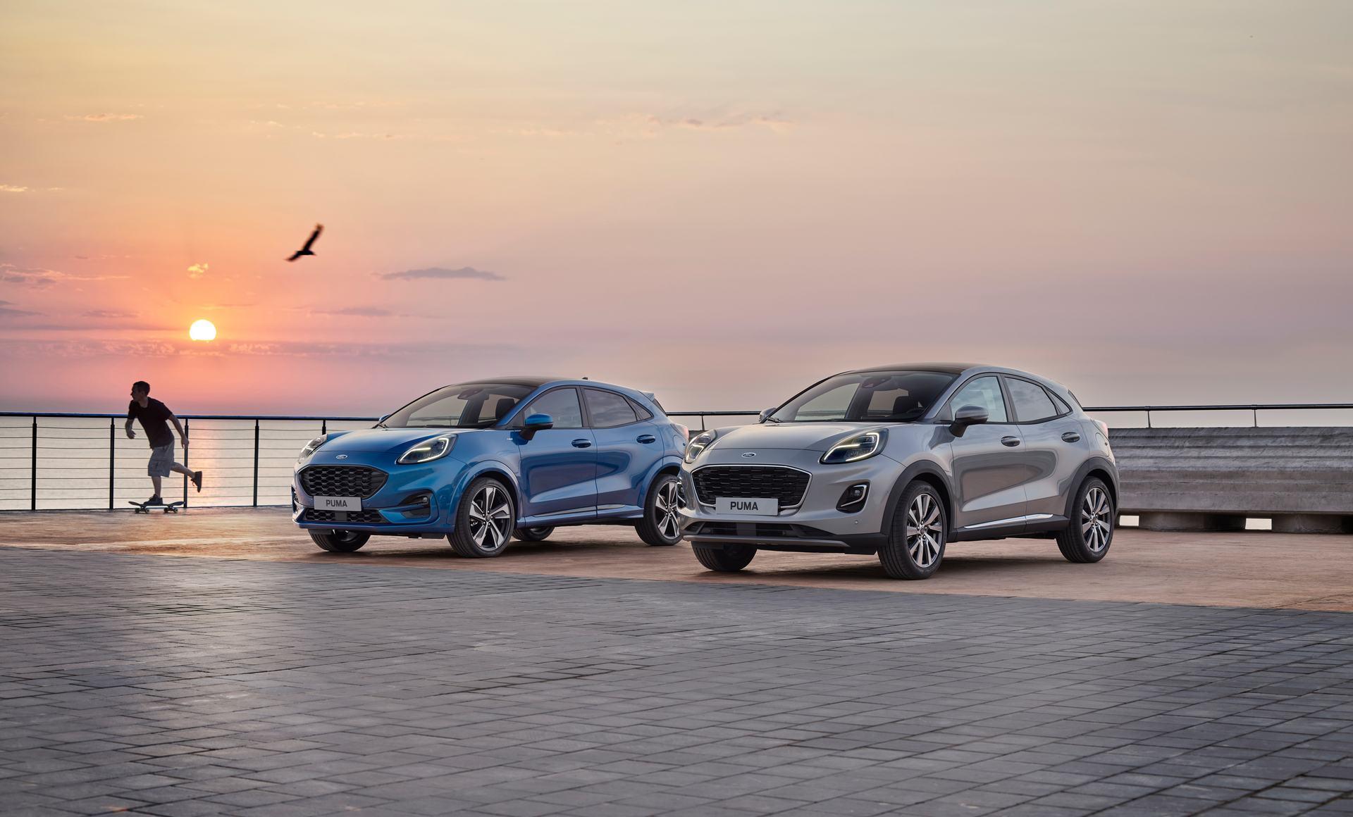 Titanium X:Η Ford αποκαλύπτει την έκδοση υψηλών προδιαγραφών του νέου Puma