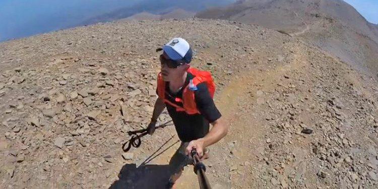 Γερμανός λάτρης της φύσης ταξιδεύει από τις Άλπεις στην Κρήτη για να «κατακτήσει» τον Ψηλορείτη (βίντεο)