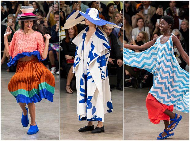 Τα ιπτάμενα φορέματα στο show του Issey Miyake ήταν η καλύτερη στιγμή στην Εβδομάδα Μόδας στο Παρίσι
