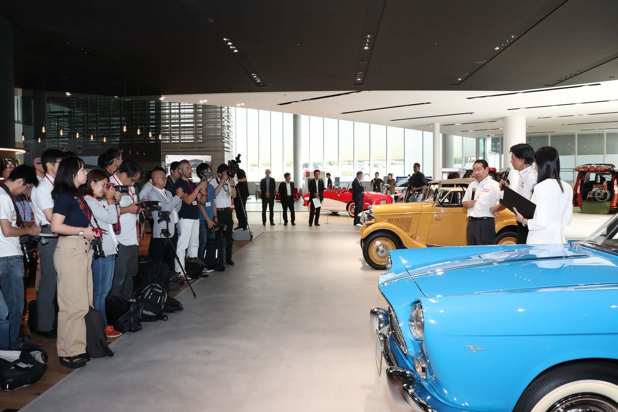 Μια έκθεση της Nissan στην Ιαπωνία διαφορετική από τις άλλες