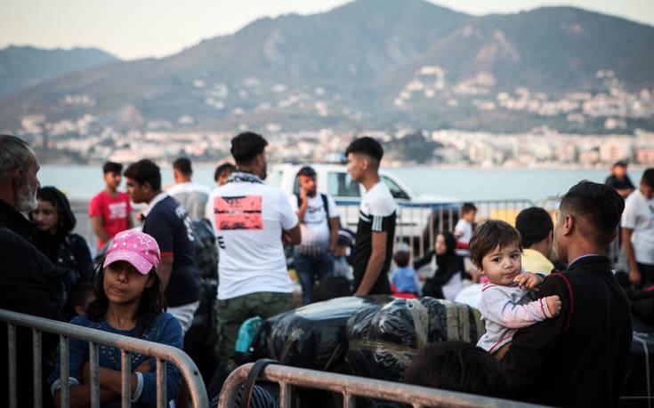 Μυτιλήνη: Συνεχίζονται οι προσφυγικές και μεταναστευτικές ροές