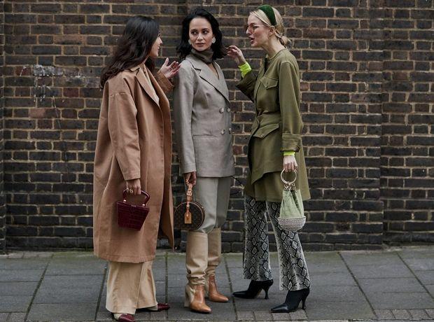 Οι street style εμφανίσεις στο Λονδίνο αποδεικνύουν ότι οι Bρετανίδες τολμούν με το στιλ τους
