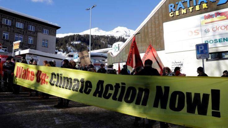 Ελβετία: Πορεία για το κλίμα με τη συμμετοχή 100.00 ανθρώπων στη Βέρνη