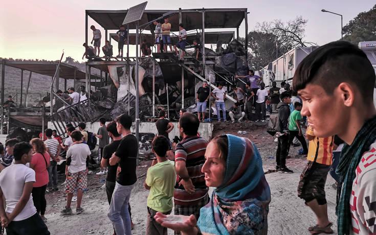 Σύγχυση με τους νεκρούς στη Μόρια μετά το χάος στον καταυλισμό