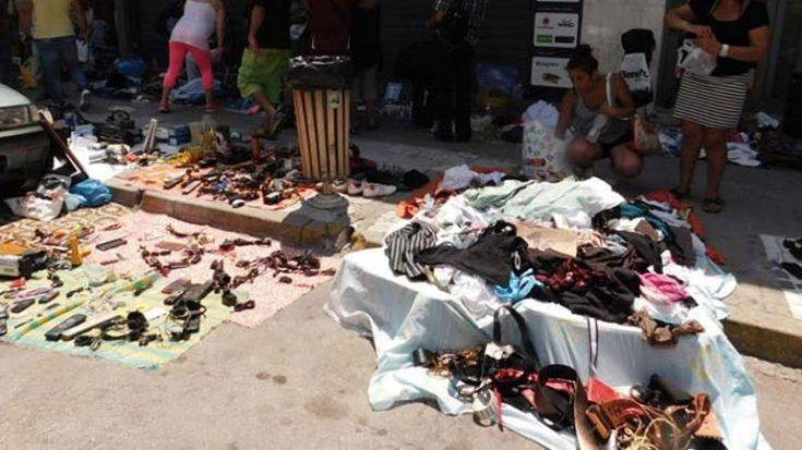 Αστυνομική επιχείρηση το πρωί στον Πειραιά για την καταπολέμηση του παρεμπορίου
